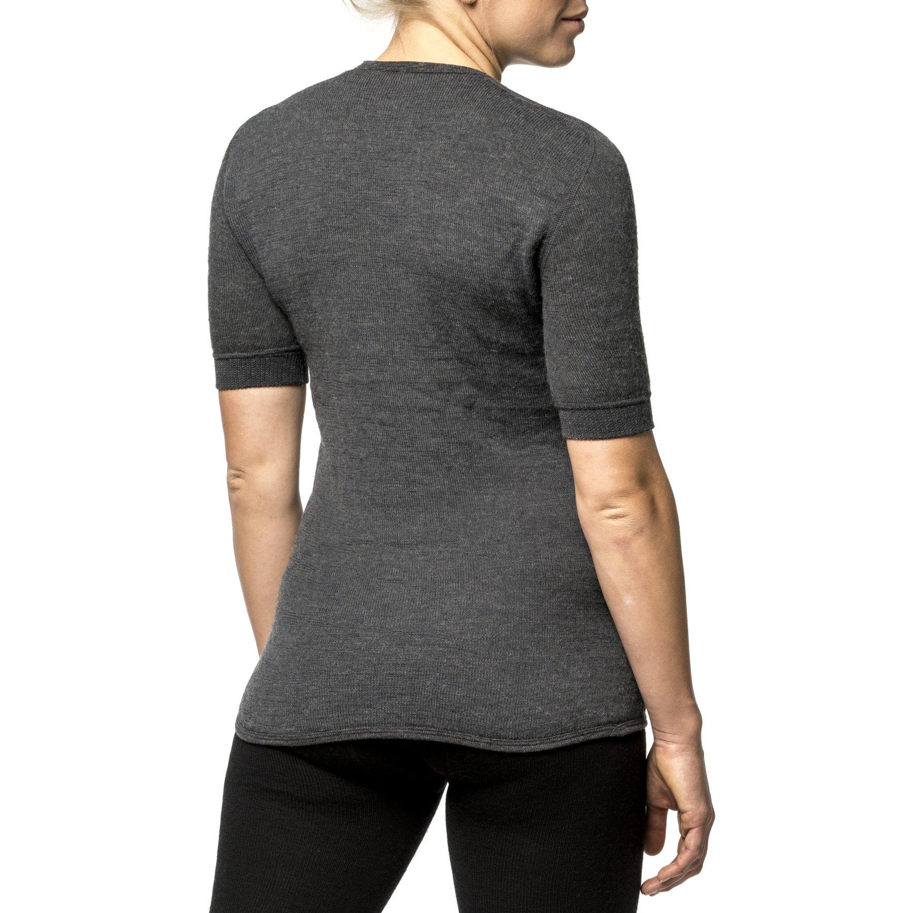 Bild von Woolpower Tee 200 Unisex Kurzarm-Unterhemd - grey