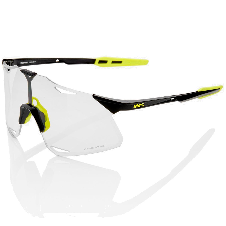 100% Hypercraft - Photochromic Lens Gafas - Gloss Black