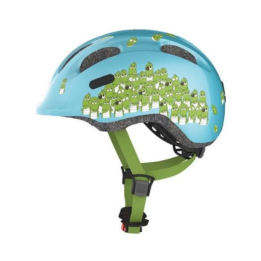 ABUS Smiley 2.0 Kids Helmet - blue croco