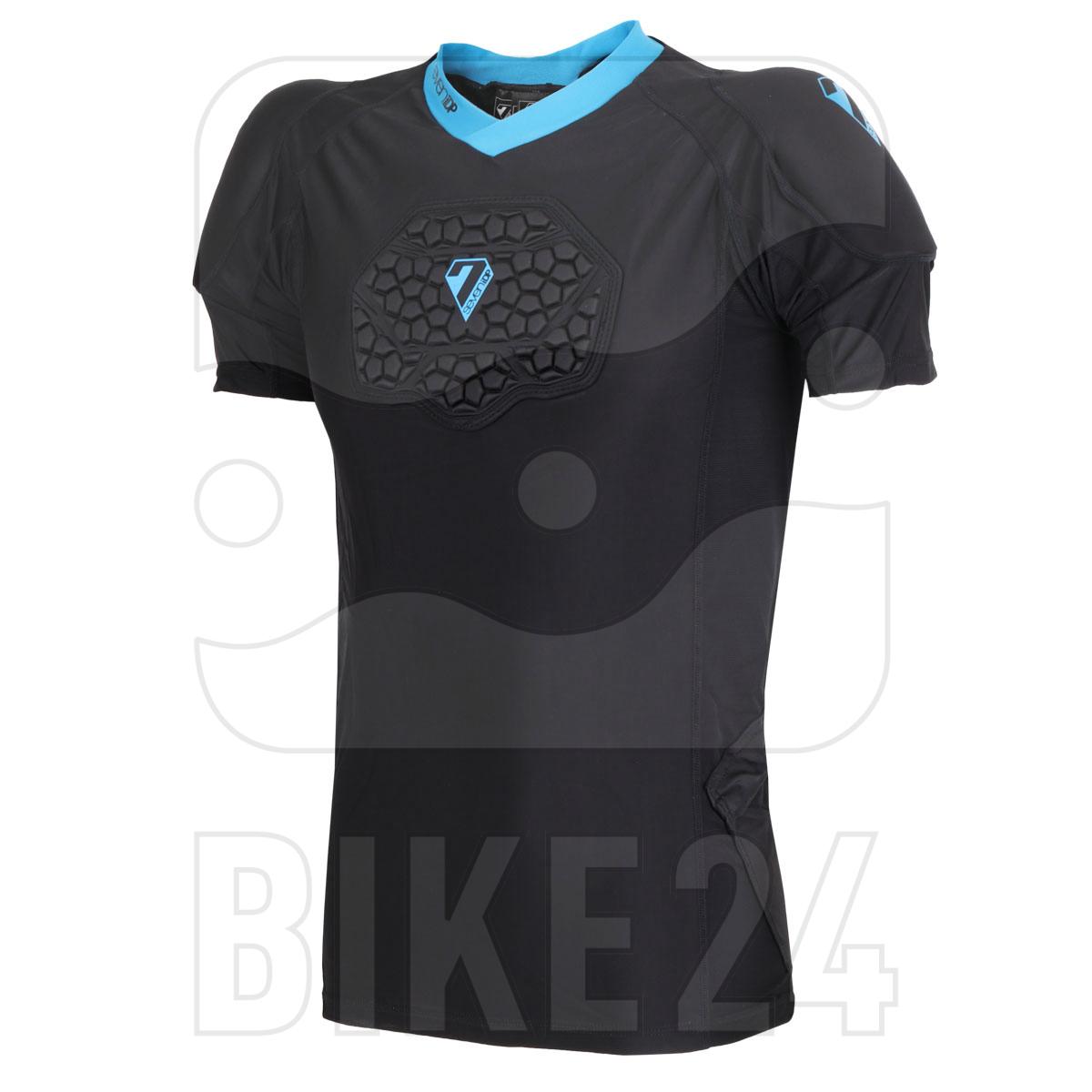 Imagen de 7 Protection 7iDP Flex Body Suit Youth Protector T-Shirt - black-blue