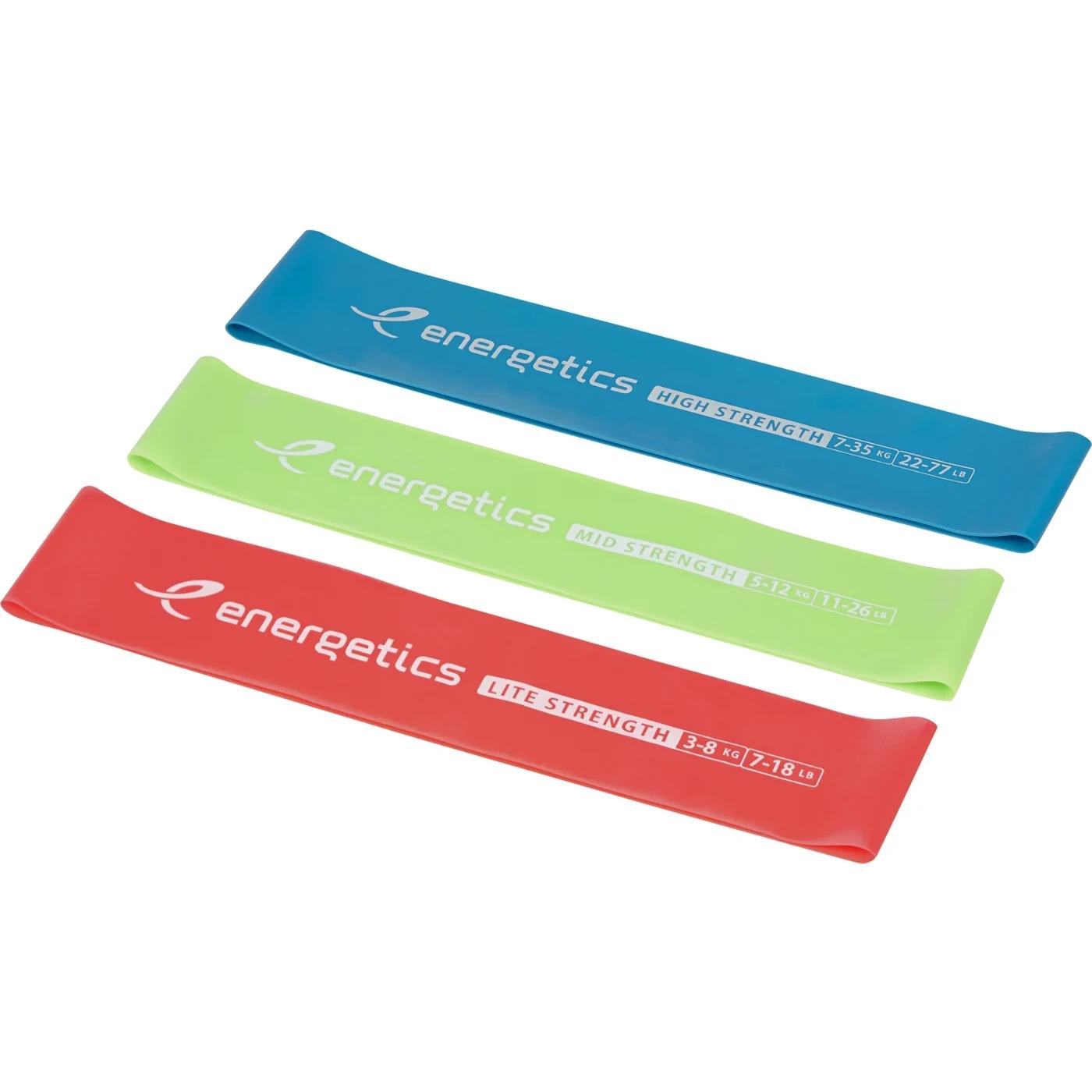 Produktbild von ENERGETICS Gymnastik-Mini Widerstandsbänder Set 1.0
