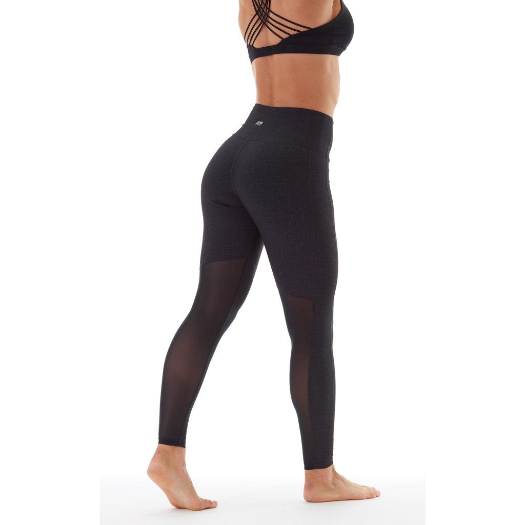 Image of Marika Olivia Vented High Rise Tummy Controll Legging Women - heather black