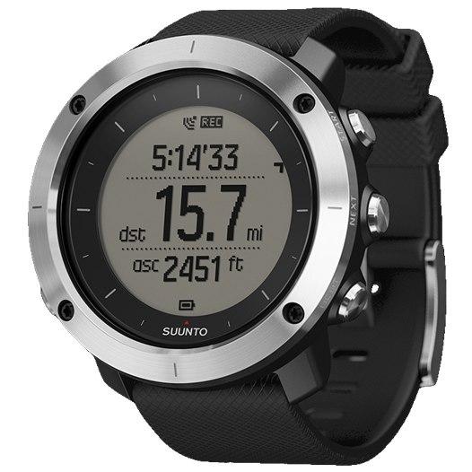 Suunto Traverse Black GPS Watch SS021843000