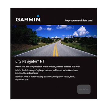 Picture of Garmin Maps City Navigator Southern Africa NT - microSD/SD Card - 010-11595-00