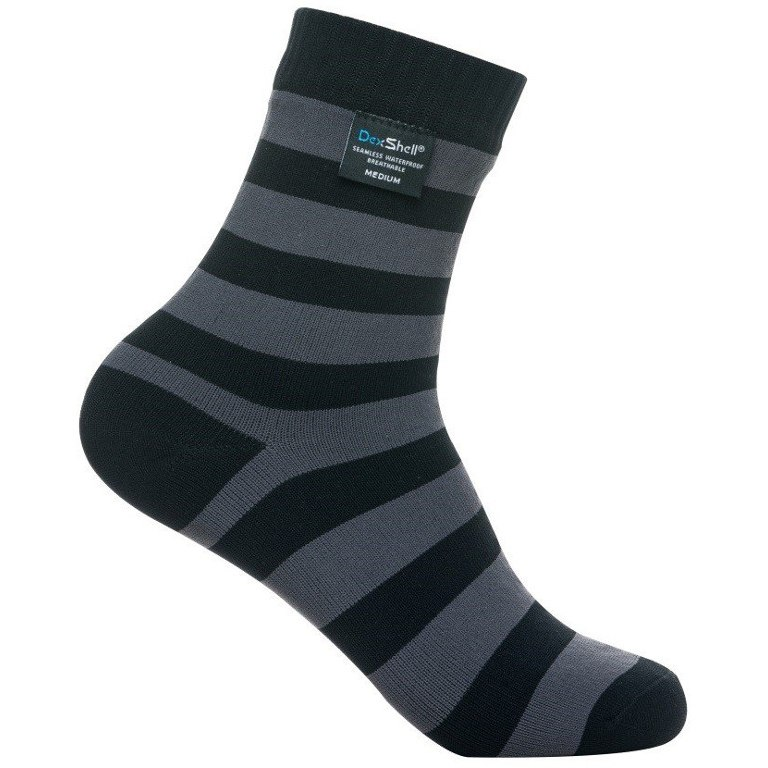 Image of DexShell Waterproof Ultralite Bamboo Socks - grey/black