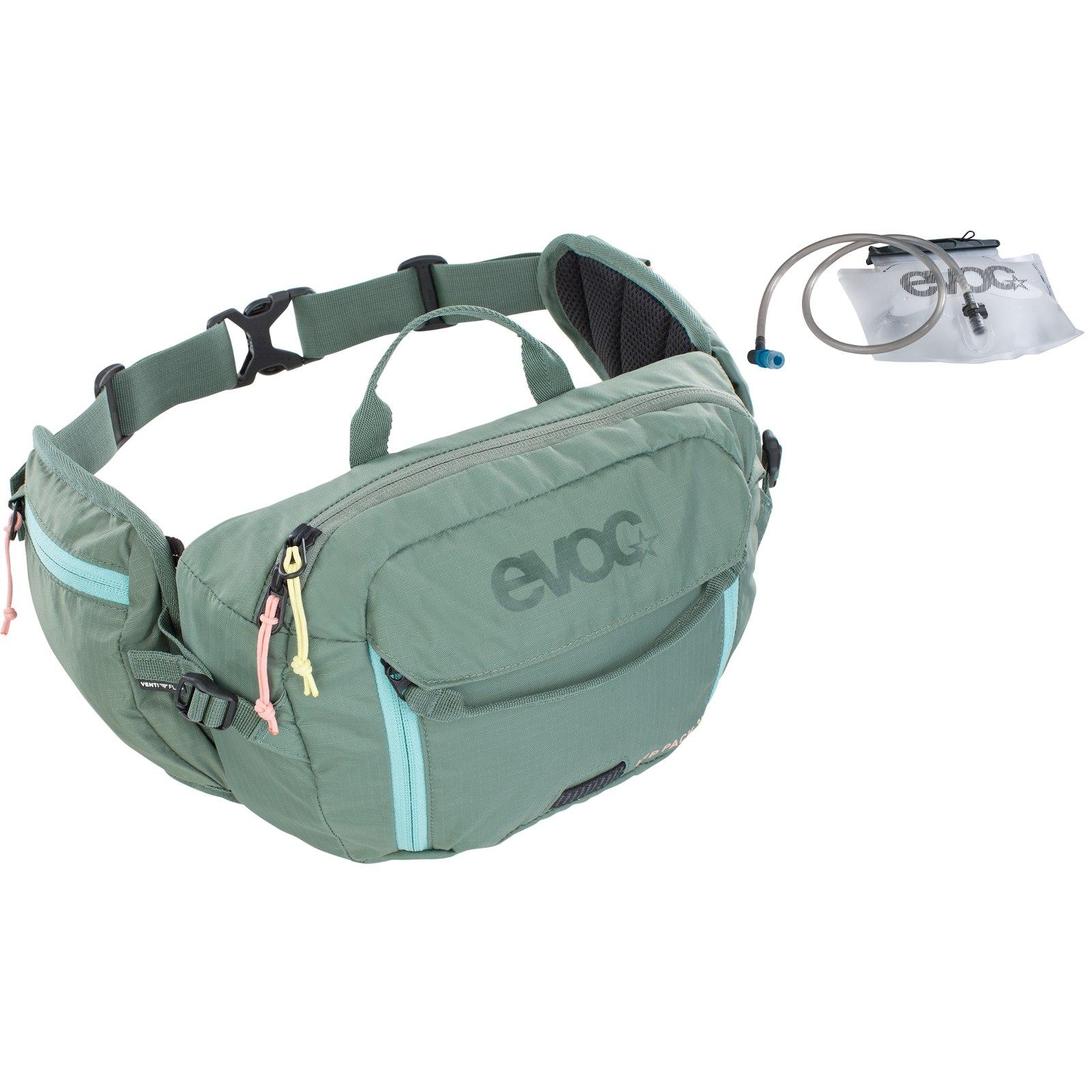 Foto de EVOC Hip Pack 3L Riñonera + 1.5L Bolsa de hidratación - Olive