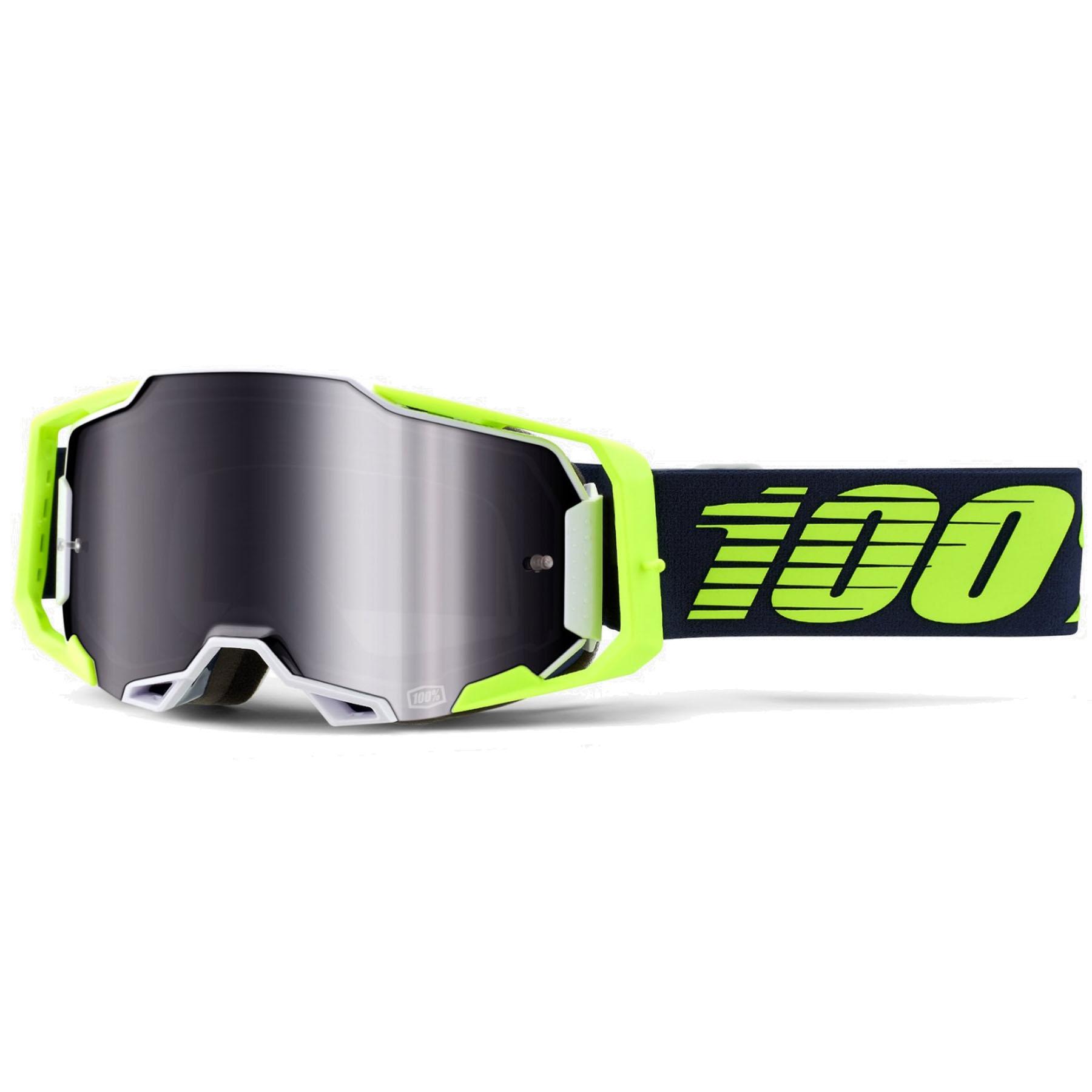 100% Armega Goggle Mirror Lens Gafas - Deker