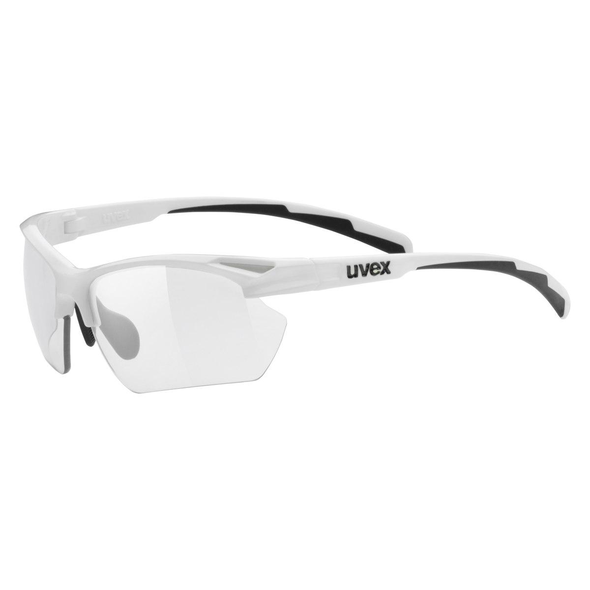 Uvex sportstyle 802 small v - white/variomatic smoke Brille