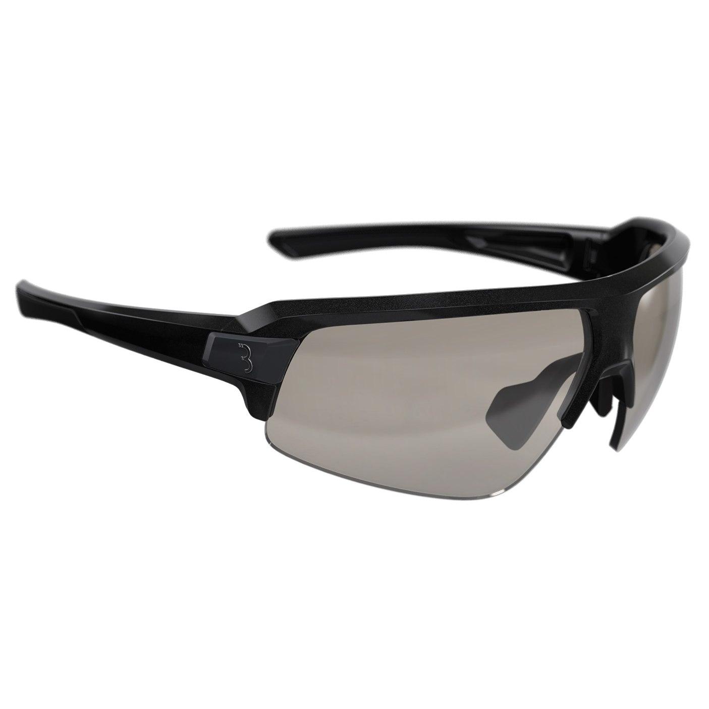 BBB CyclingImpulse BSG-62PH Metallic Black Glossy | Photochromic PC Glasses