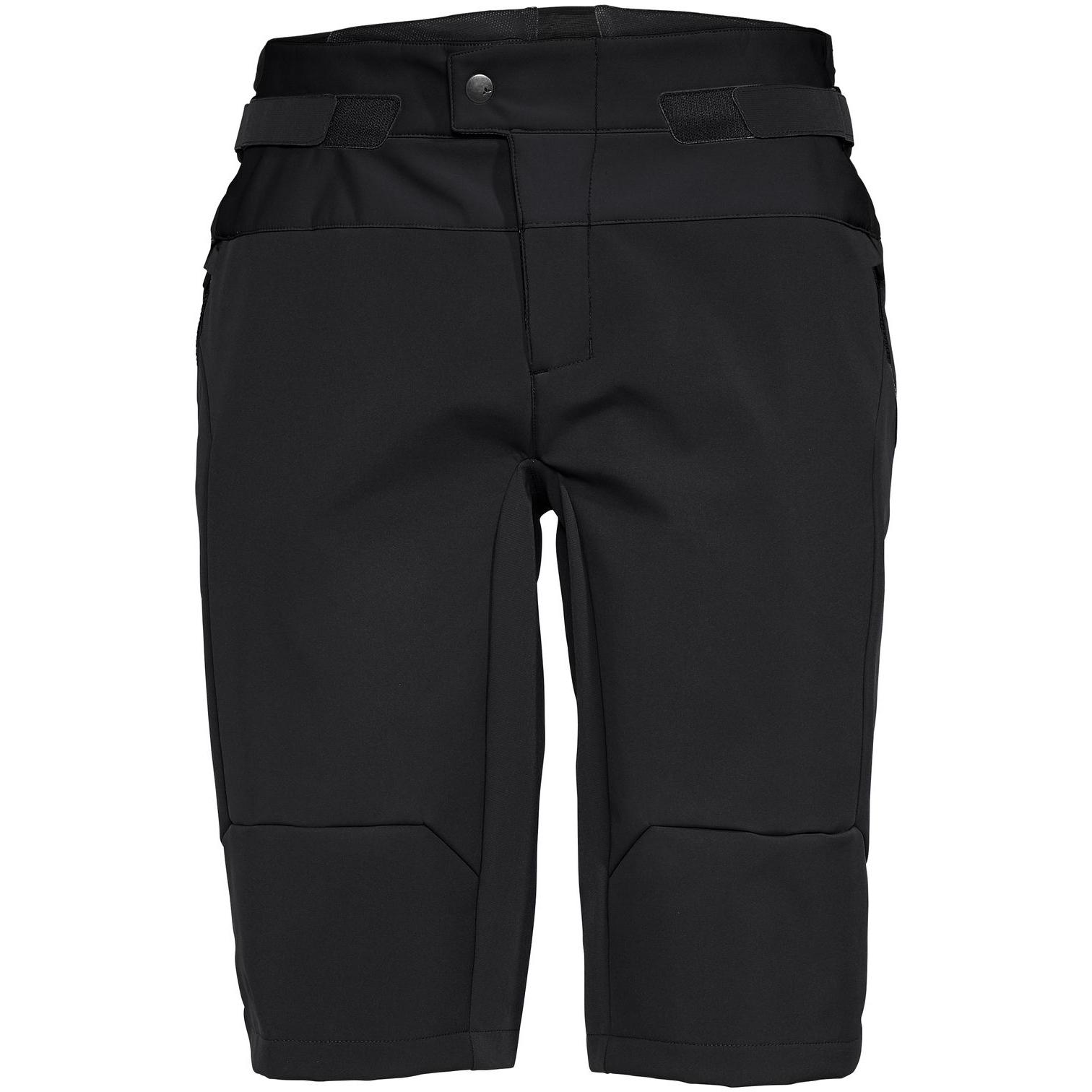 Vaude Qimsa Softshell Shorts - schwarz/schwarz
