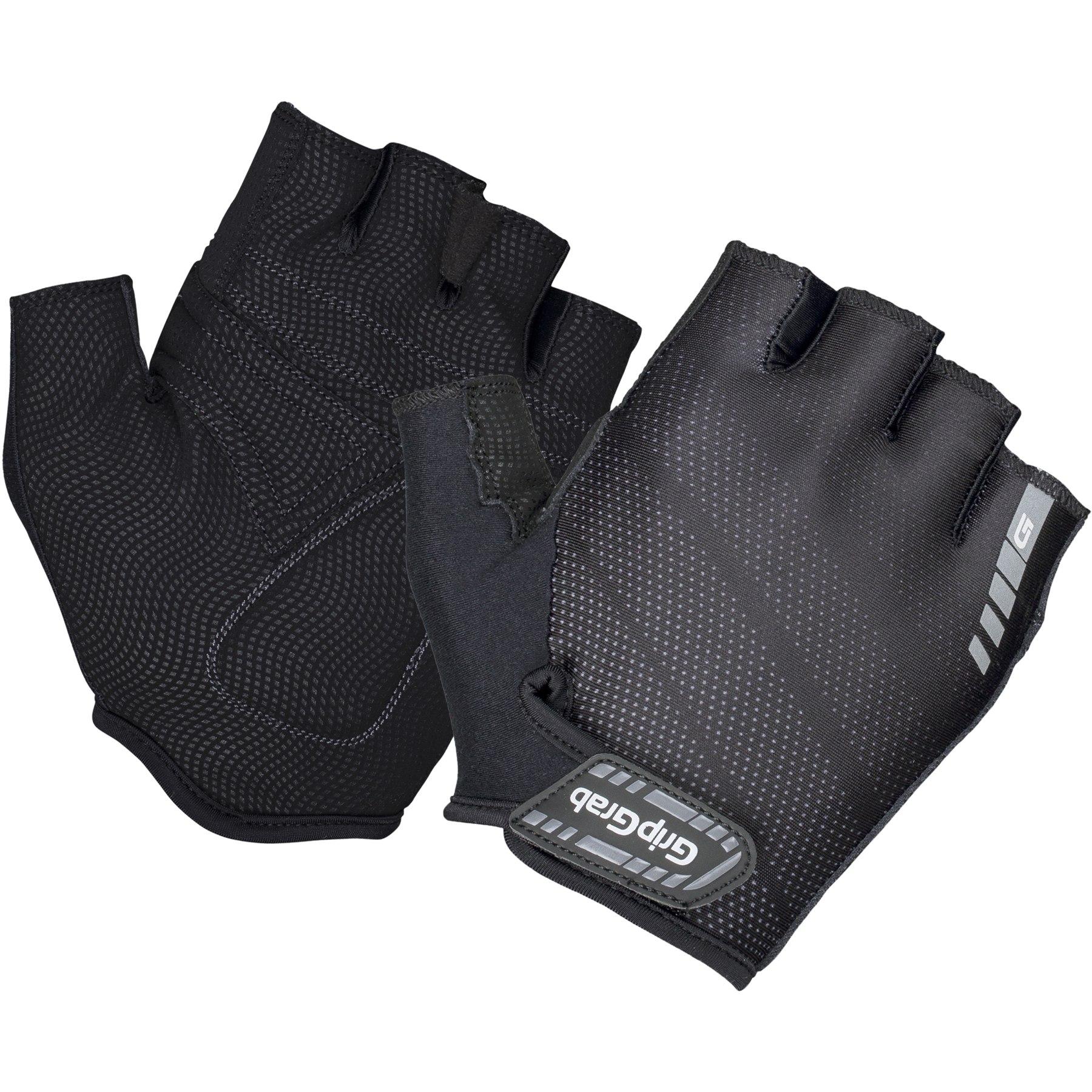 GripGrab Rouleur Padded Short Finger Glove - black