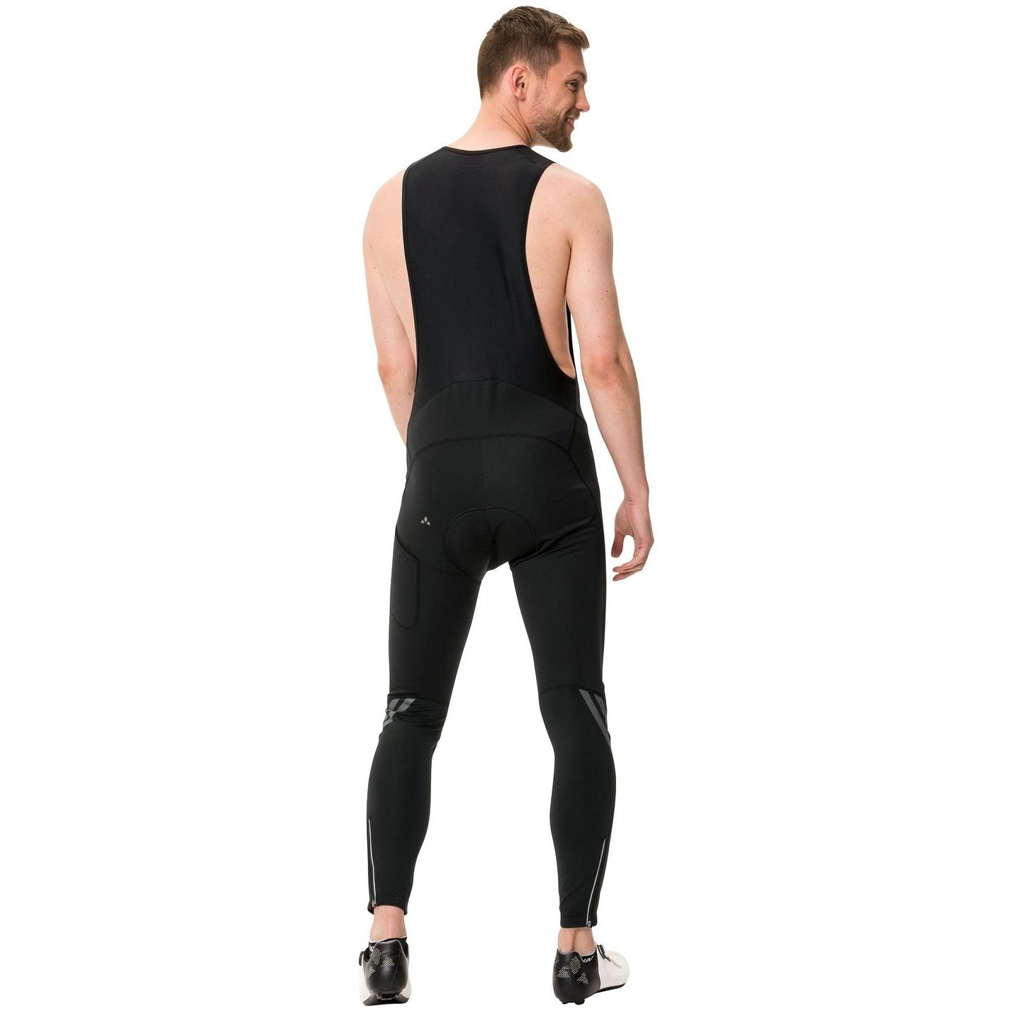 Image of Vaude Men's Posta Warm Bib Tights - black