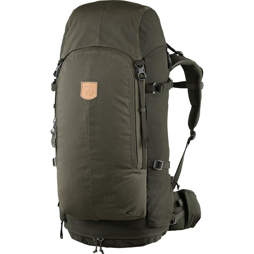Fjällräven Keb 52 Backpack - olive/deep forest