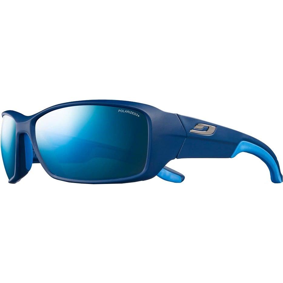 Julbo Run Spectron 3 Polarized Sonnenbrille - Matt Blau Blau / Grau Flash Blau
