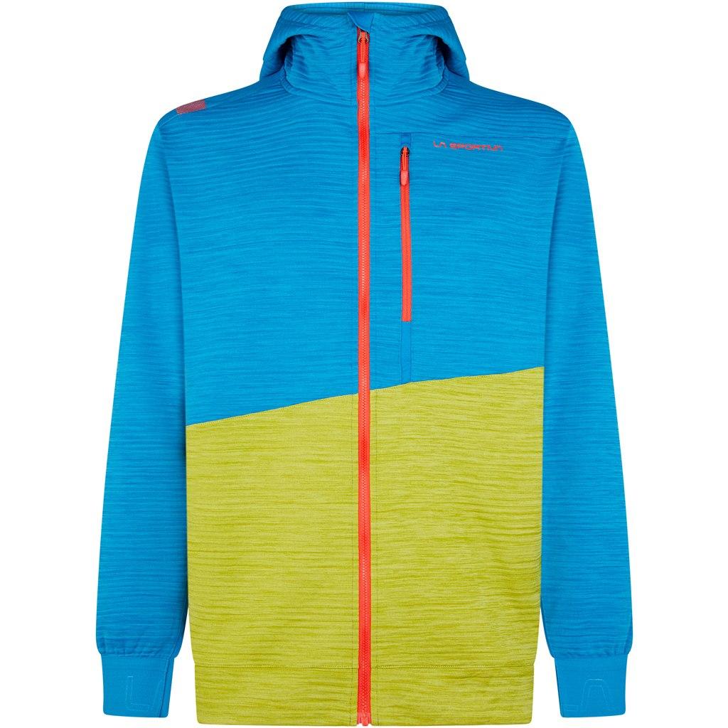 La Sportiva Training Day Hoody Jacket - Neptune/Kiwi