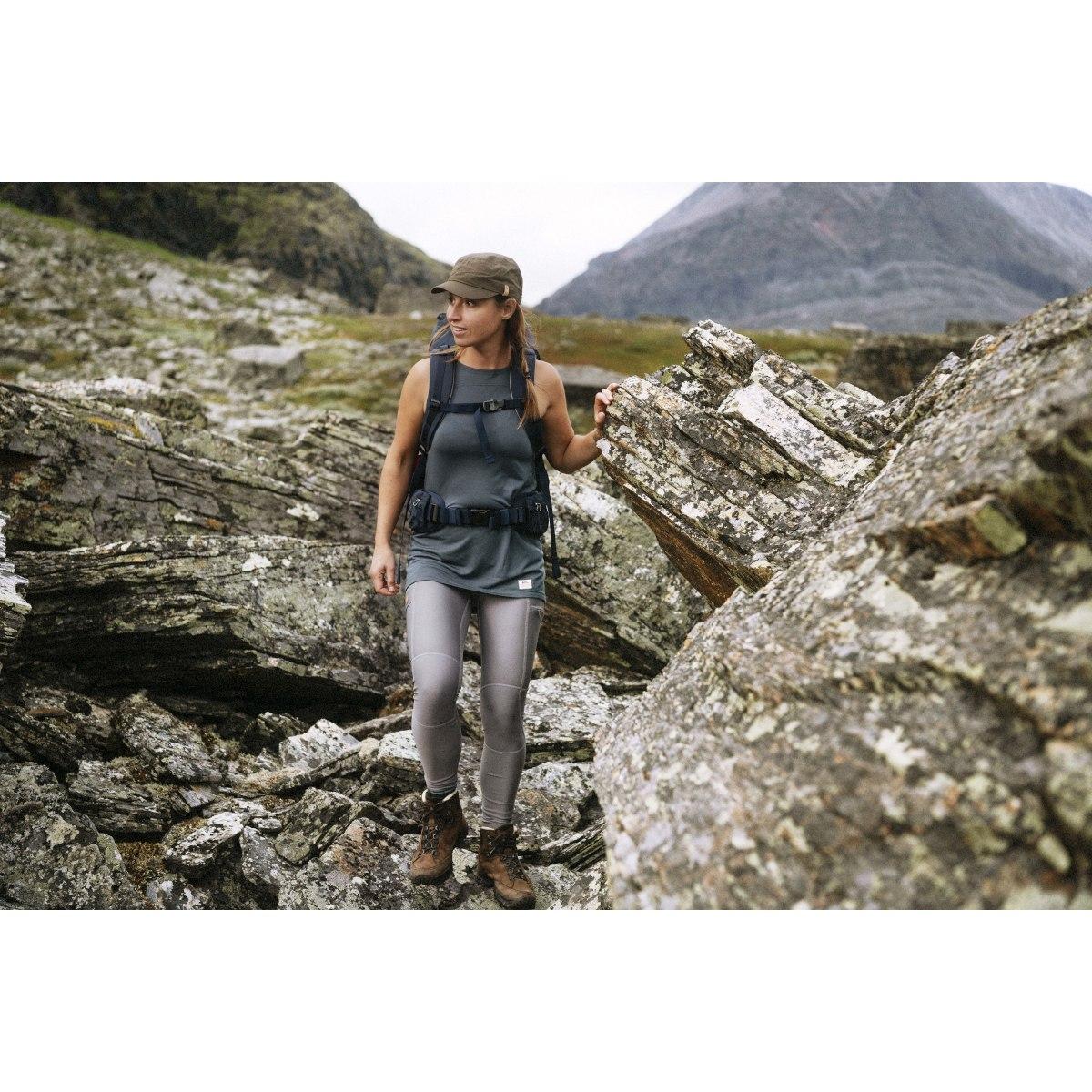 Image of Fjällräven Abisko Trail Tights for Women - black