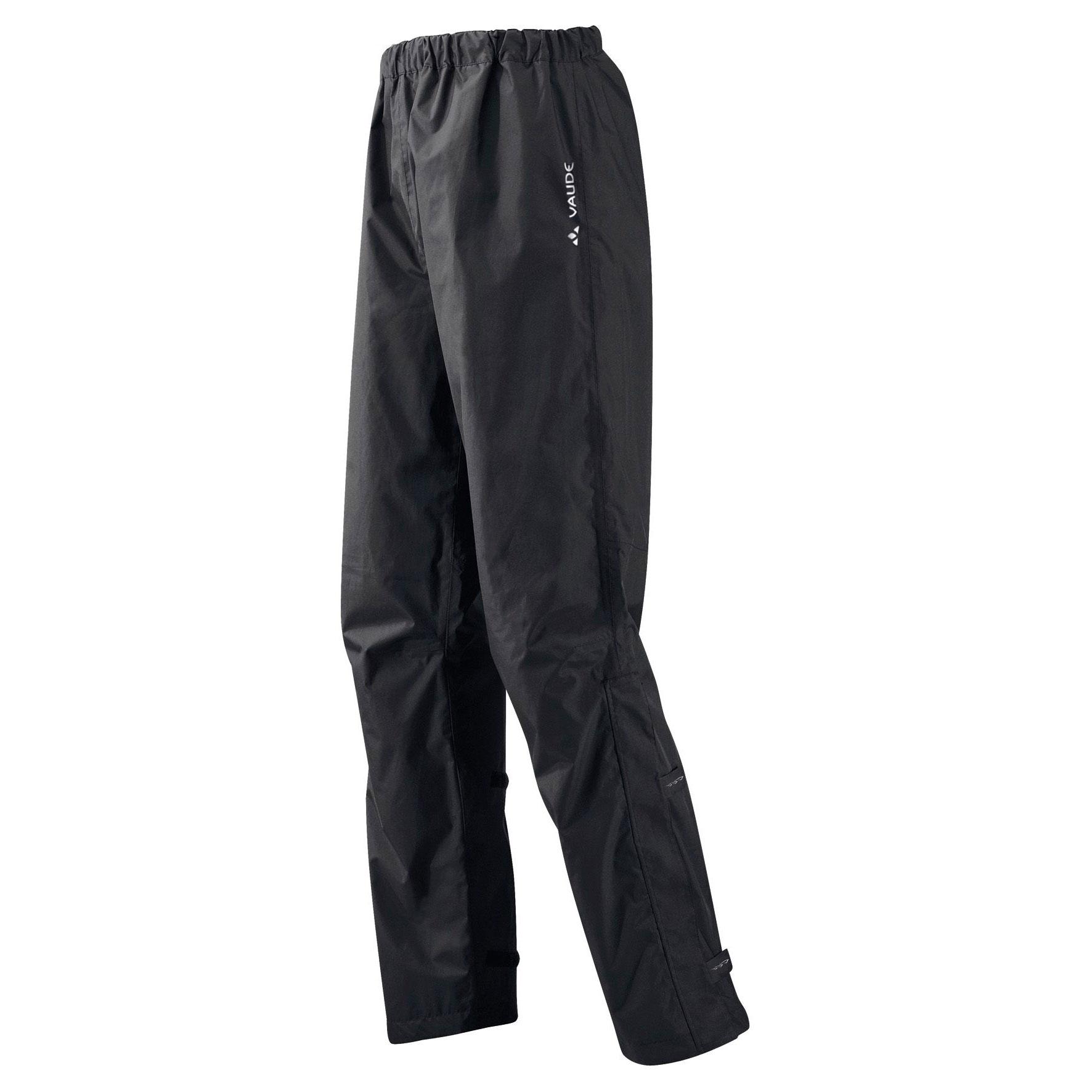 Foto de Vaude Fluid II Pantalones impermeables - Regular - negro