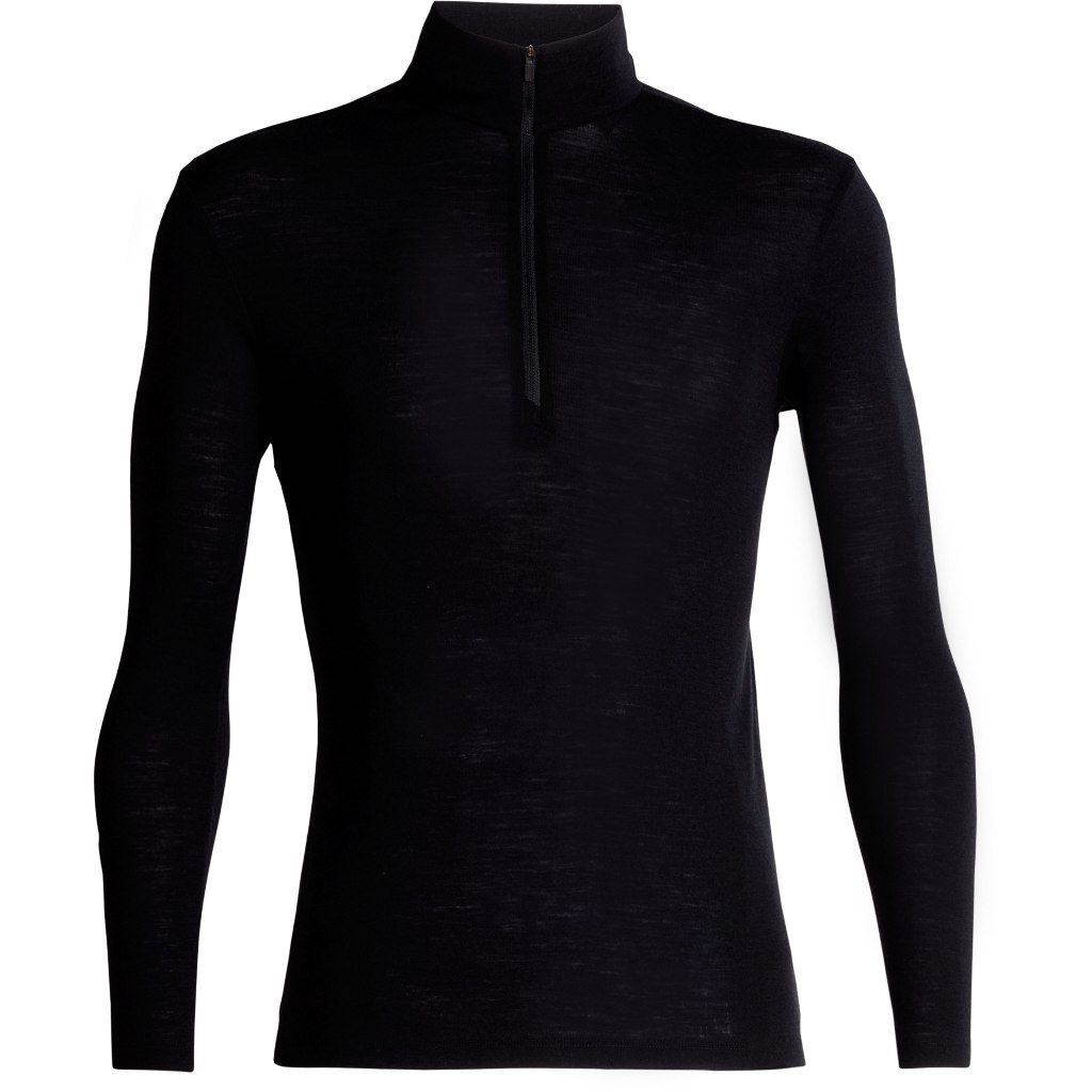 Produktbild von Icebreaker 175 Everyday Half Zip Herren Langarmshirt - Black
