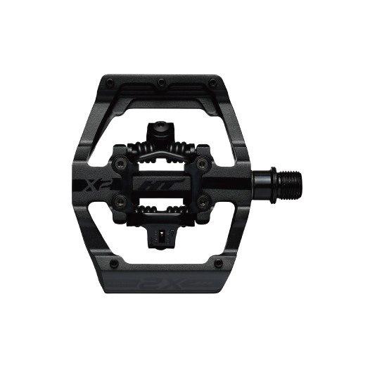 HT X2 Klickpedal Aluminium - stealth black