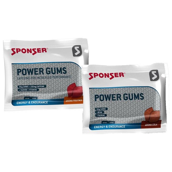 SPONSER Power Gums con carbohidratos - 75g