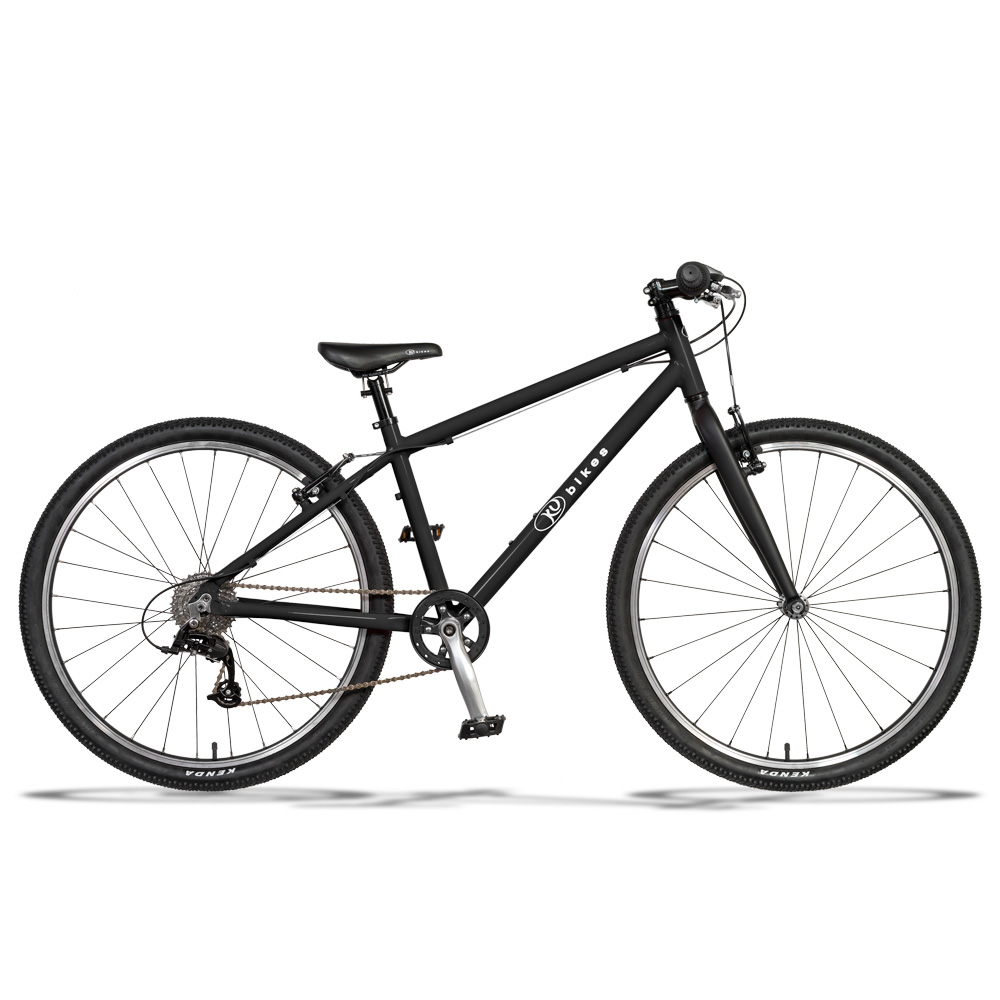 KUbikes 26 MTB 8-Gang Kinderfahrrad - schwarz