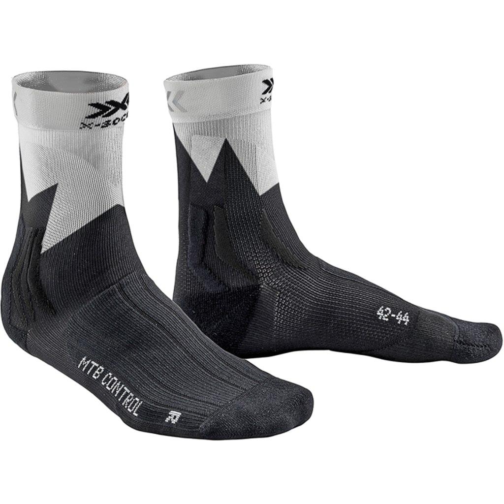 X-Socks MTB Control Biking Socken - opal black/zigzag