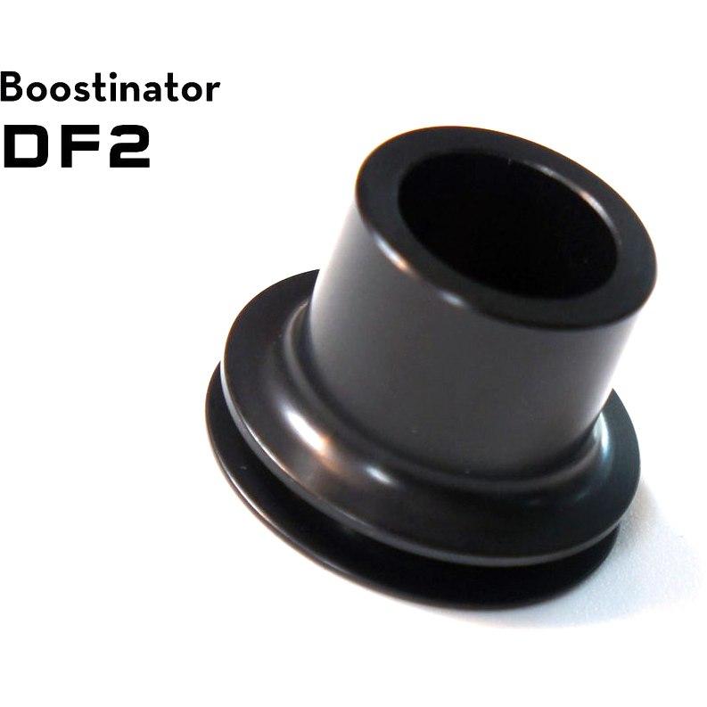 Wolf Tooth Boostinator DF2 Umbausatz auf Boost Standard 110mm für DT Swiss 190/240s, Vorderrad - schwarz