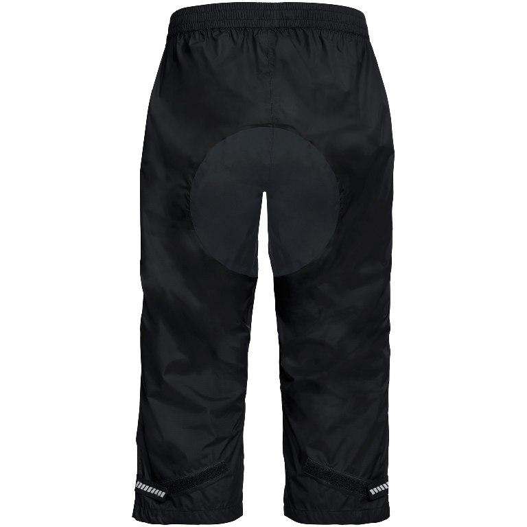 Bild von Vaude Drop 3/4 Rad Regenhose - schwarz