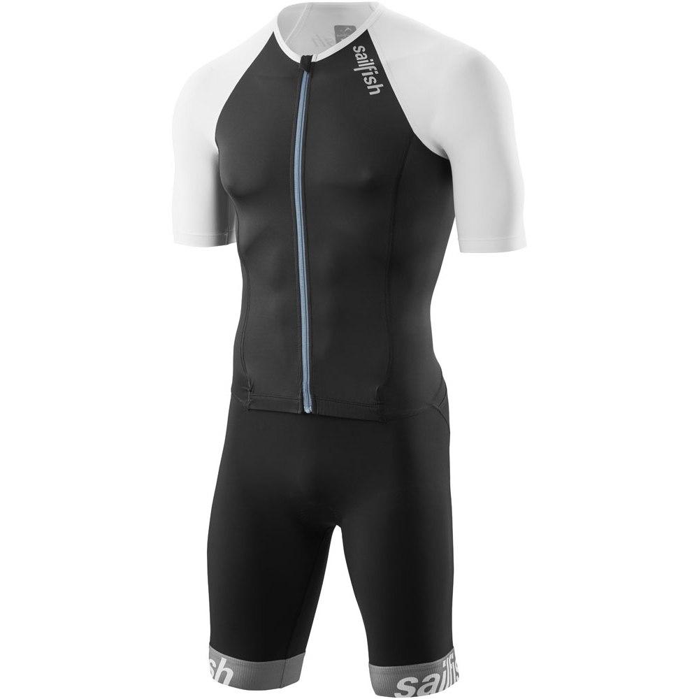 sailfish Herren Aerosuit Comp Triathlon-Einteiler 2021 - schwarz