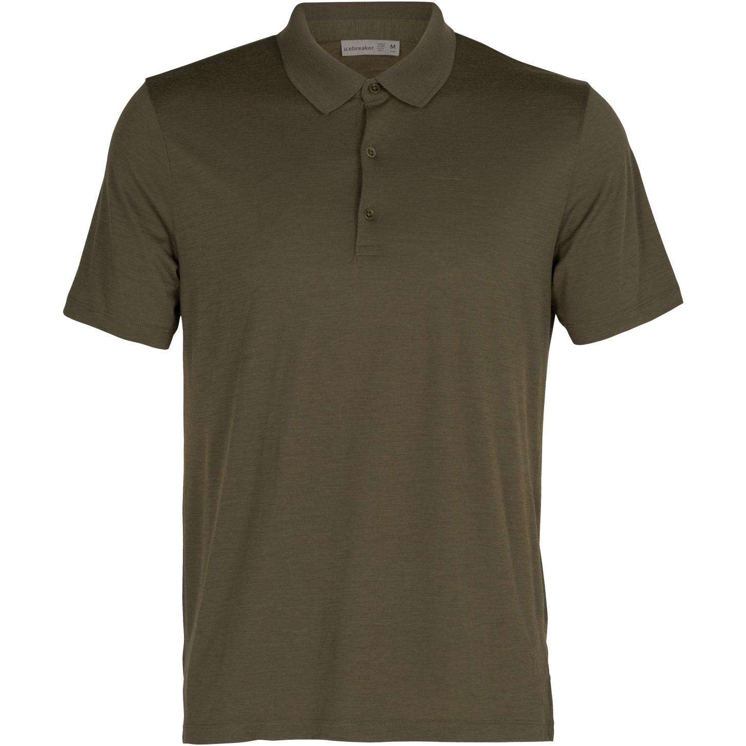 Icebreaker Tech Lite II Herren Polo-Shirt - Loden