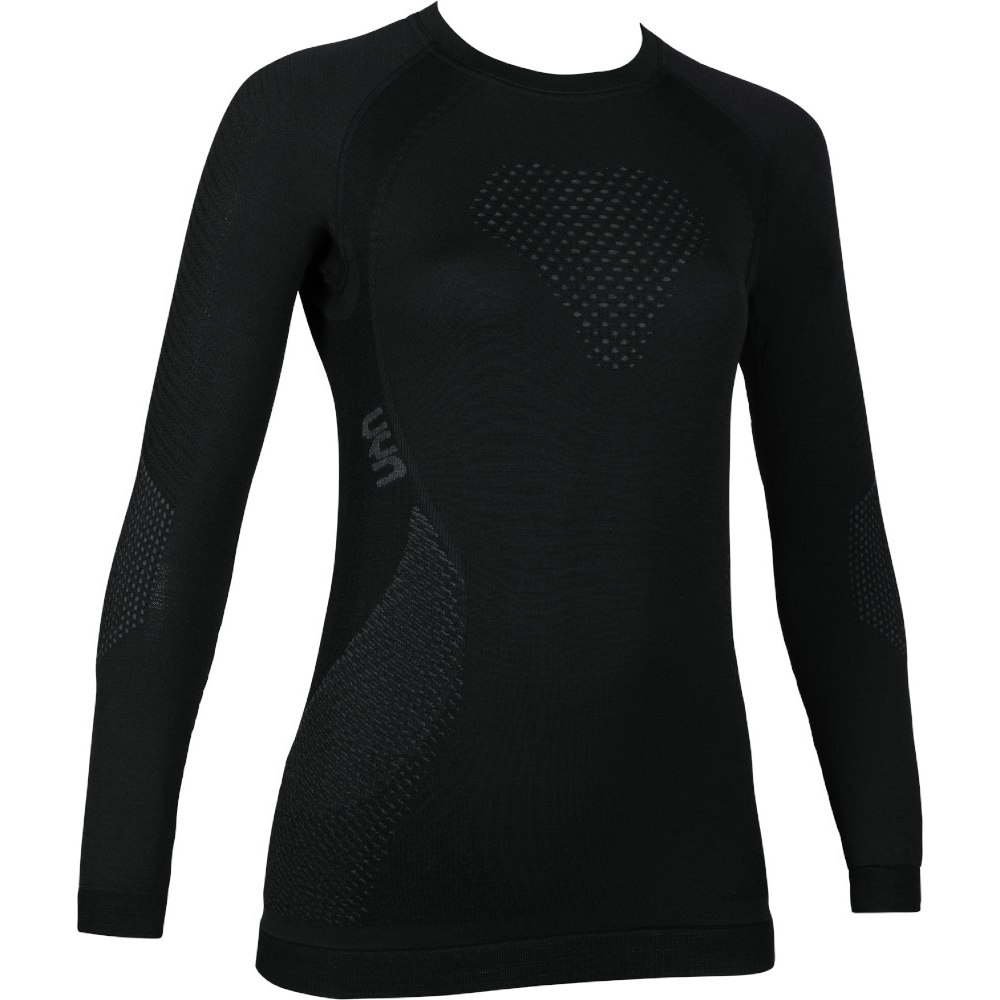 UYN Lady Fusyon Shirt Longsleeve - Black/Anthracite/Anthracite