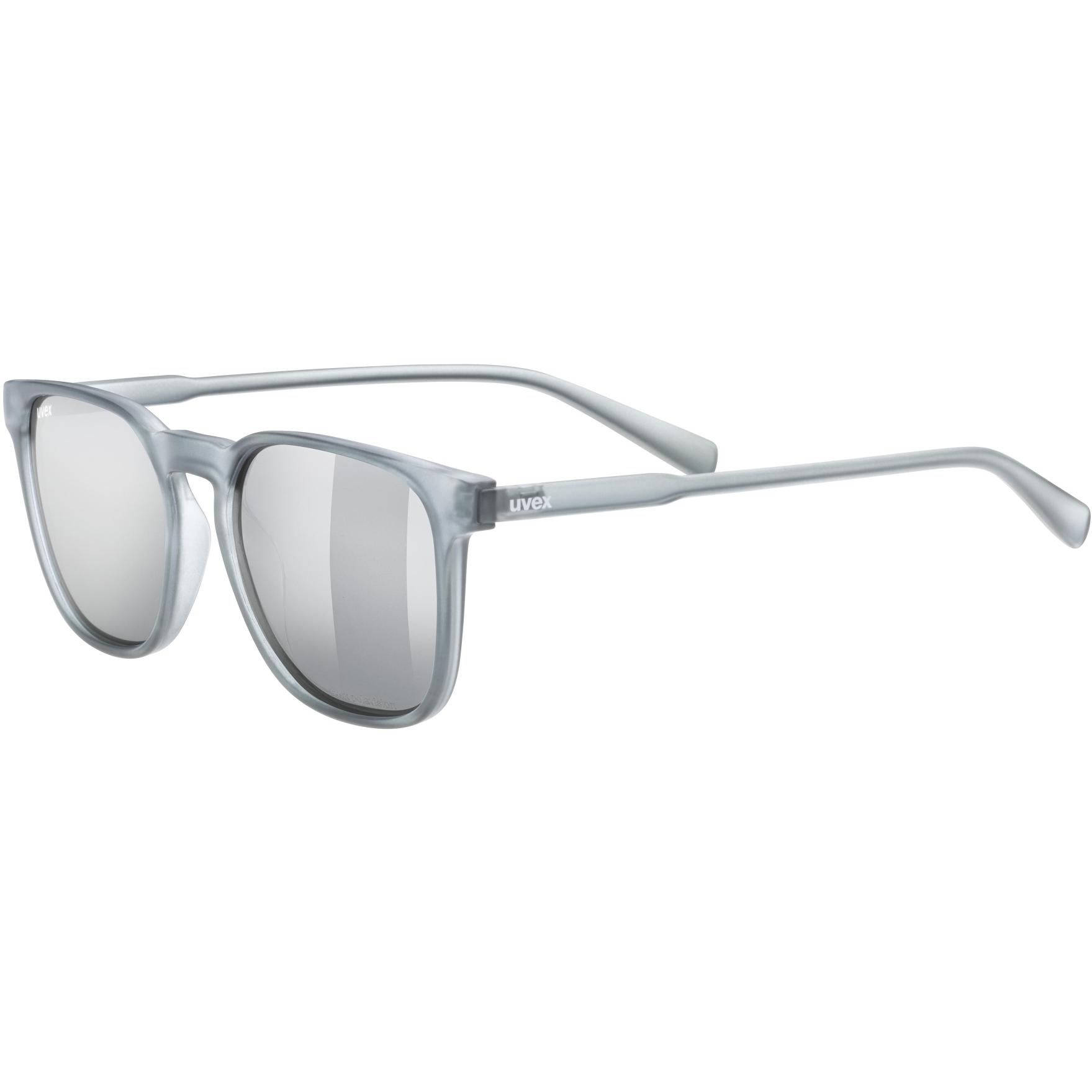 Uvex lgl 49 P Brille - smoke mat/polavision mirror silver