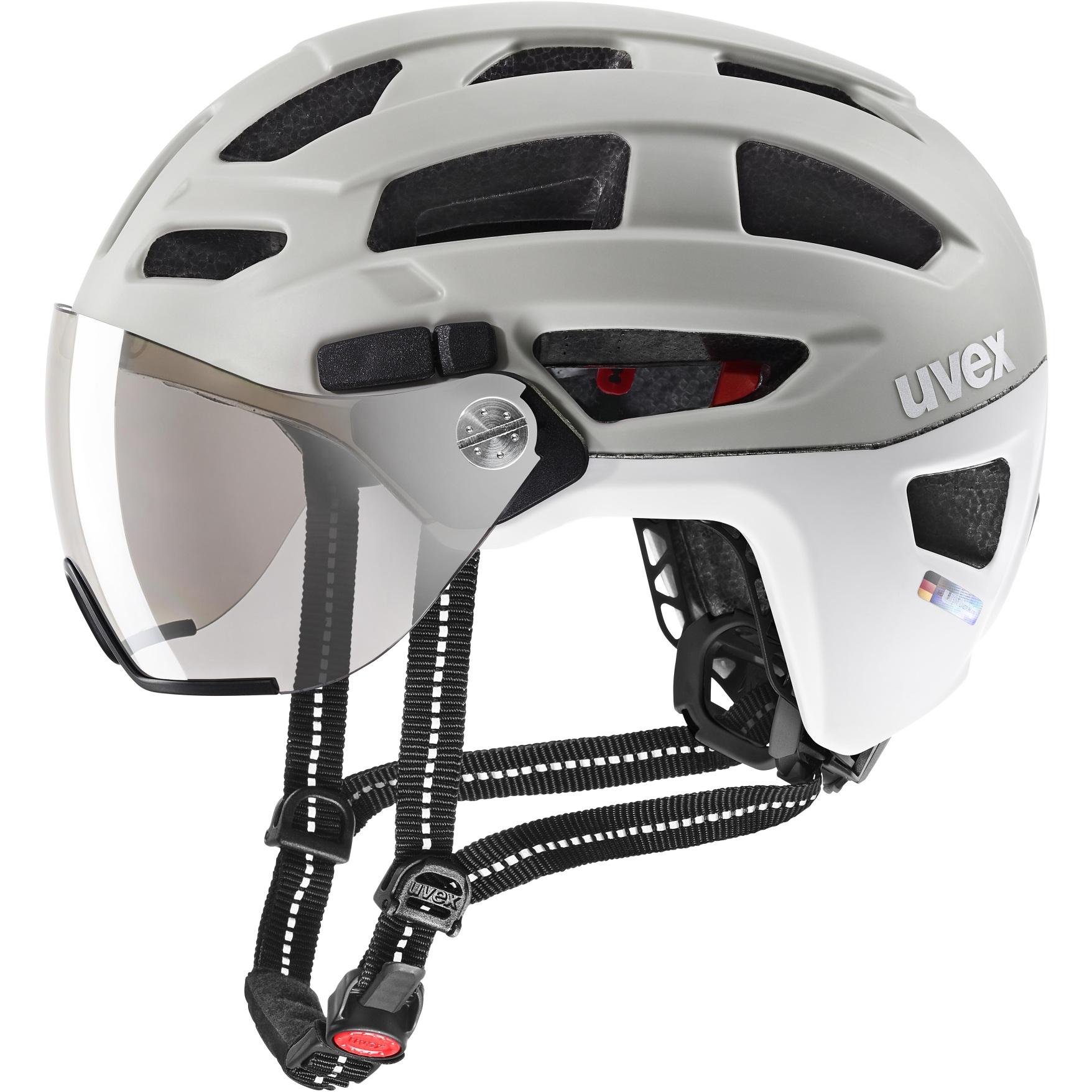 Uvex finale visor Helmet - sand-white mat