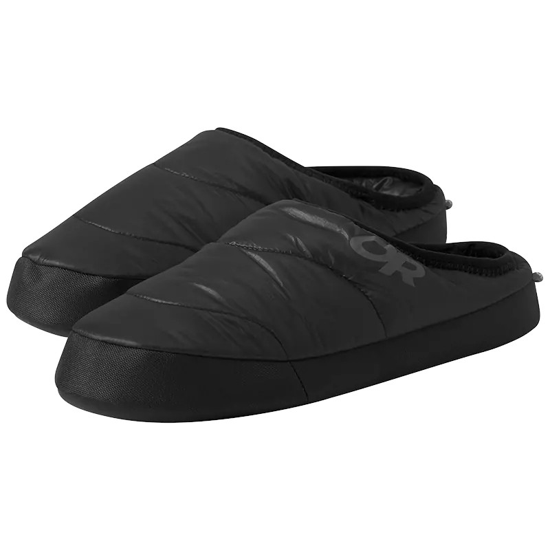 Outdoor Research Men's Tundra Slip-on Aerogel Booties - black