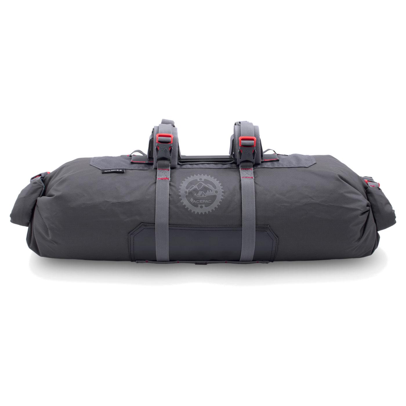 Acepac Bar Roll Handlebar Bag - grey