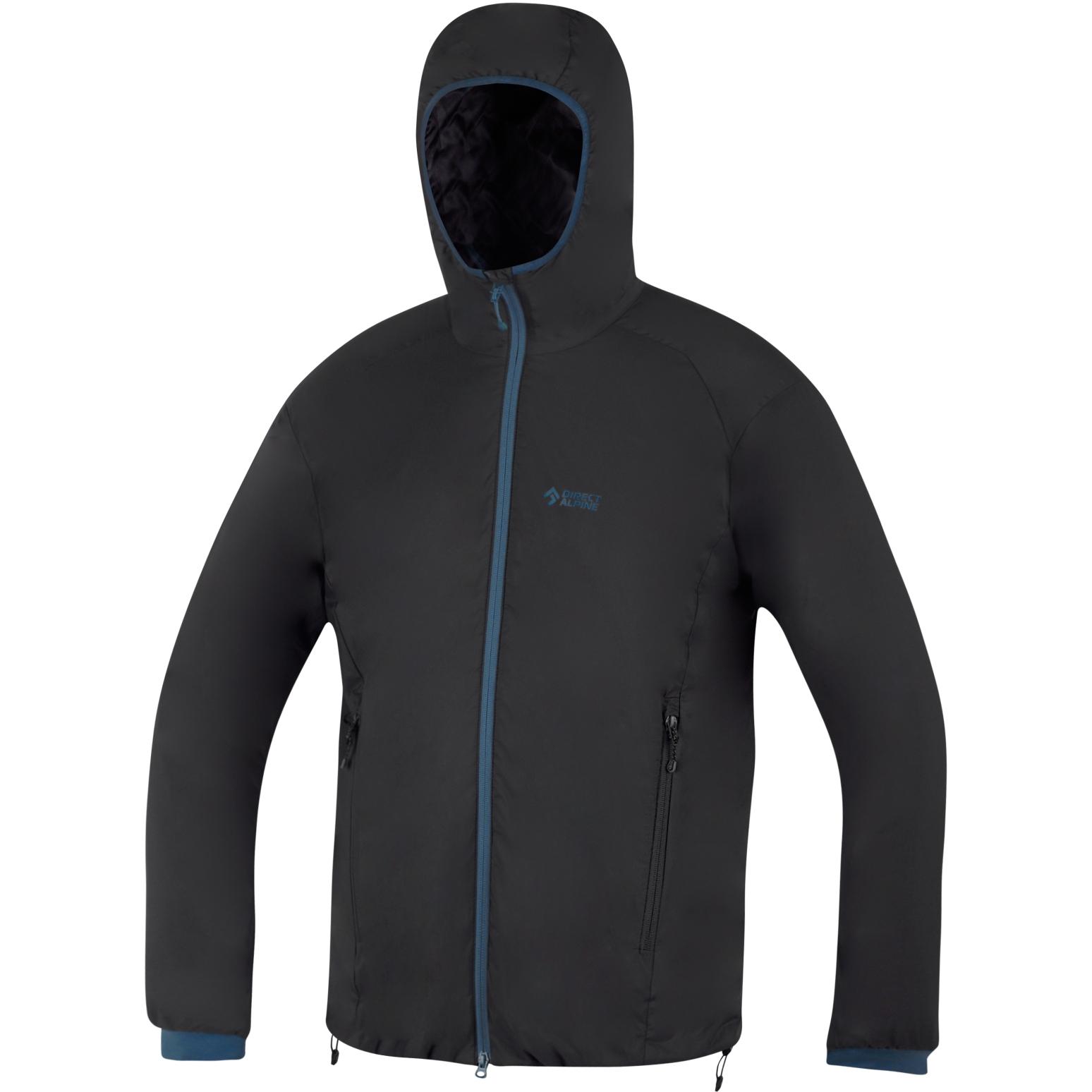 Directalpine Uniq Jacket - black/petrol