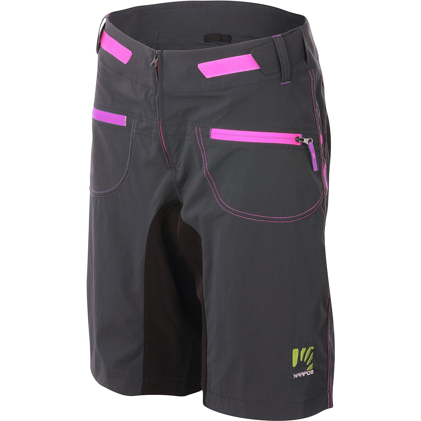 Karpos Ballistic Evo Damen Shorts - dark grey/black