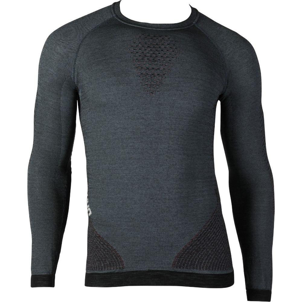 UYN Man Fusyon Shirt Longsleeve - Orion Blue/Bordeaux/Pearl Grey