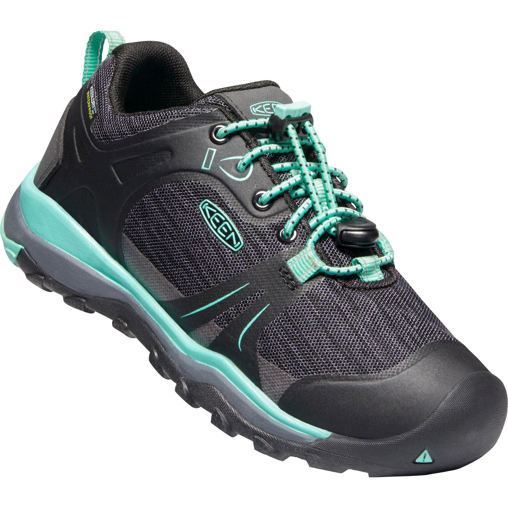 KEEN Terradora II Low Waterproof Youth Shoe - Black / Beveled Glass