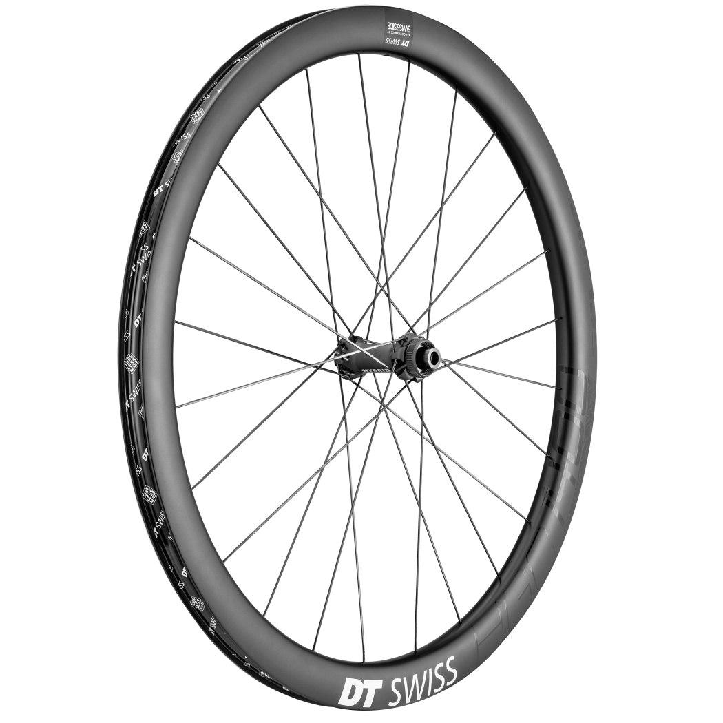 "Image of DT Swiss HGC 1400 Spline Carbon db 42 - 27.5"" Front Wheel - Clincher - Centerlock / 6 Bolt - 12x100mm"