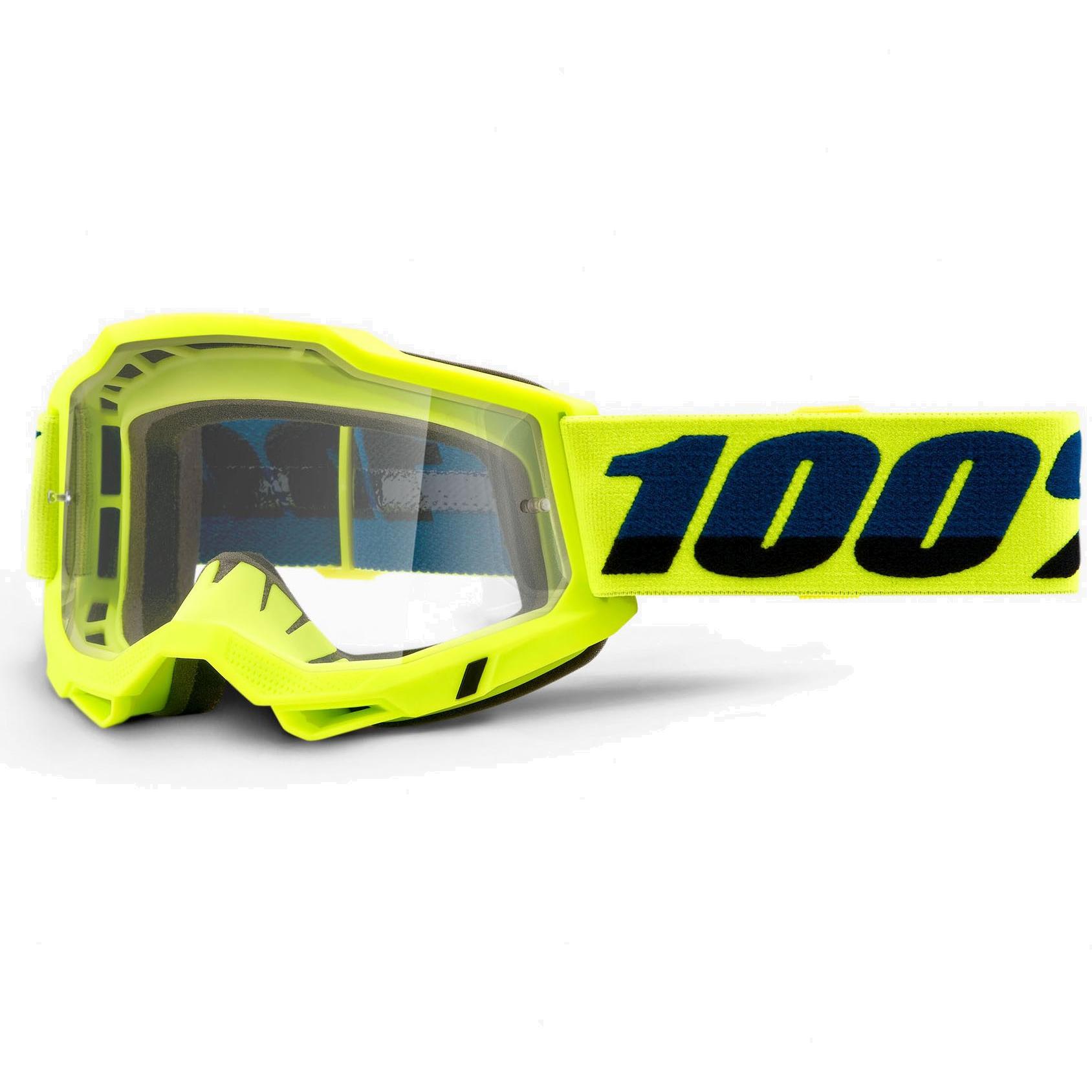 100% Accuri 2 OTG Gafas - Fluo Yellow - Clear