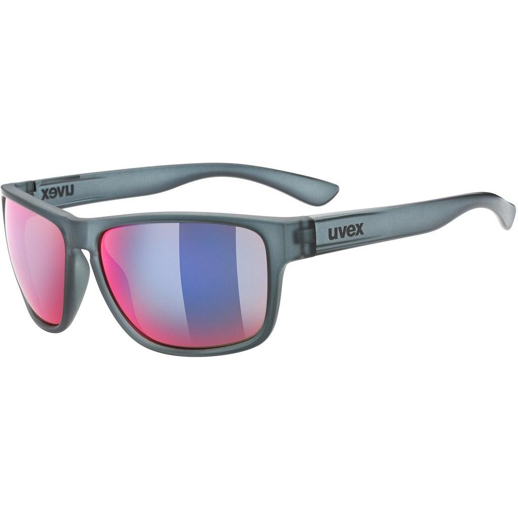 Uvex lgl 36 CV colorvision Brille - grey/daily plasma mirror