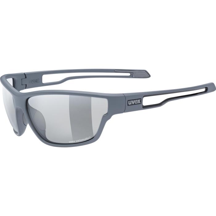 Uvex sportstyle 806 V Brille - grey mat/variomatic smoke