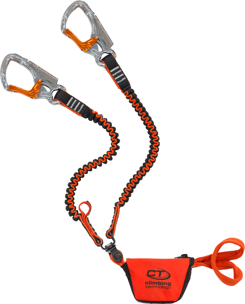 Image of Climbing Technology Top Shell Slider Twist Via Ferrata Set