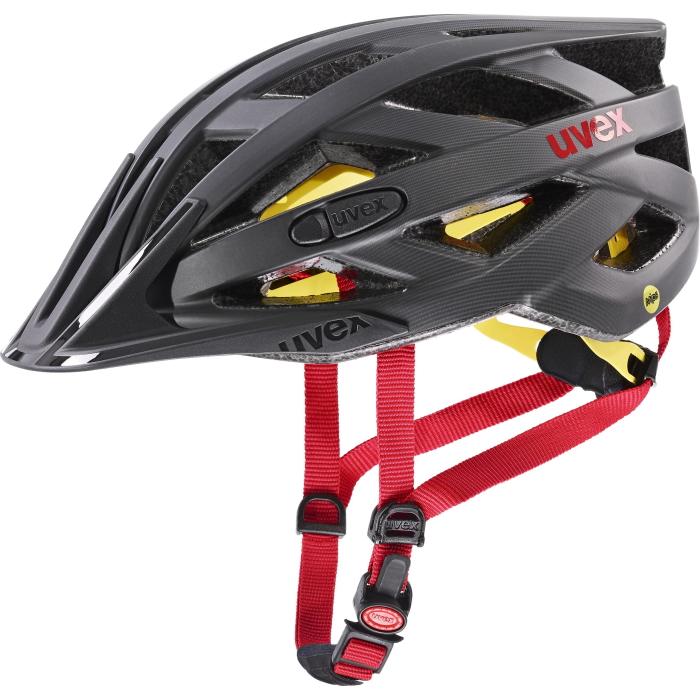 Bild von Uvex i-vo cc MIPS Helm - titan - red mat