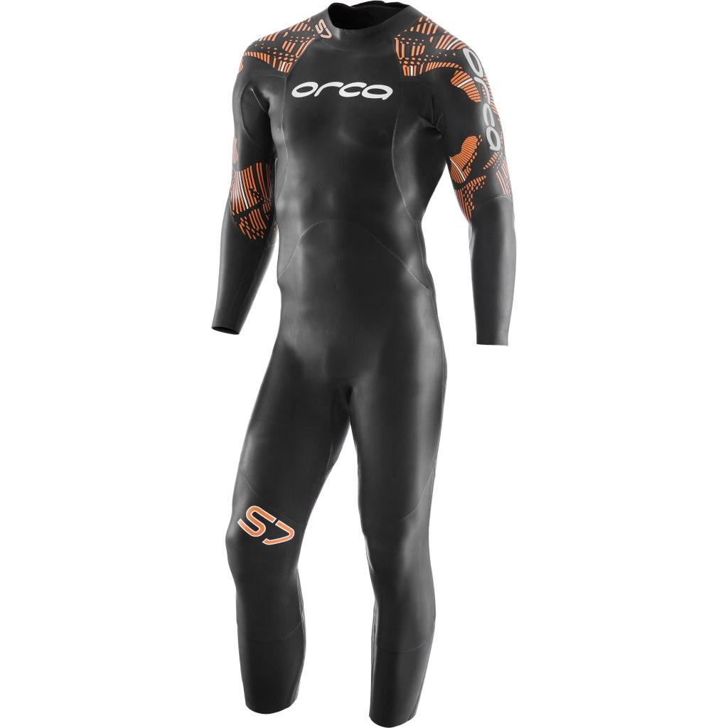 Orca S7 Fullsleeve Mens Triathlon Wetsuit - black