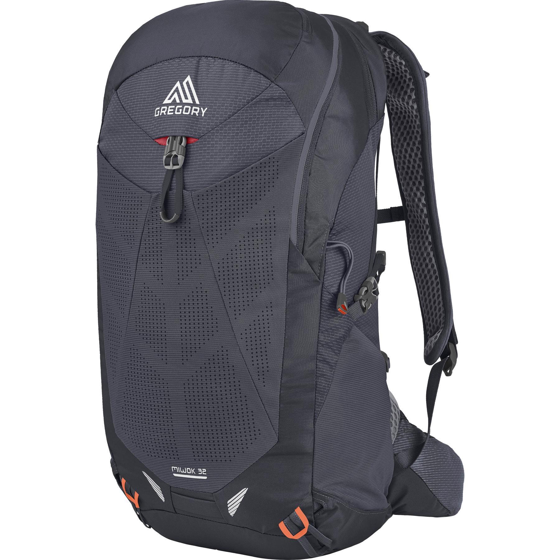 Gregory Miwok 32 Backpack - Flame Black