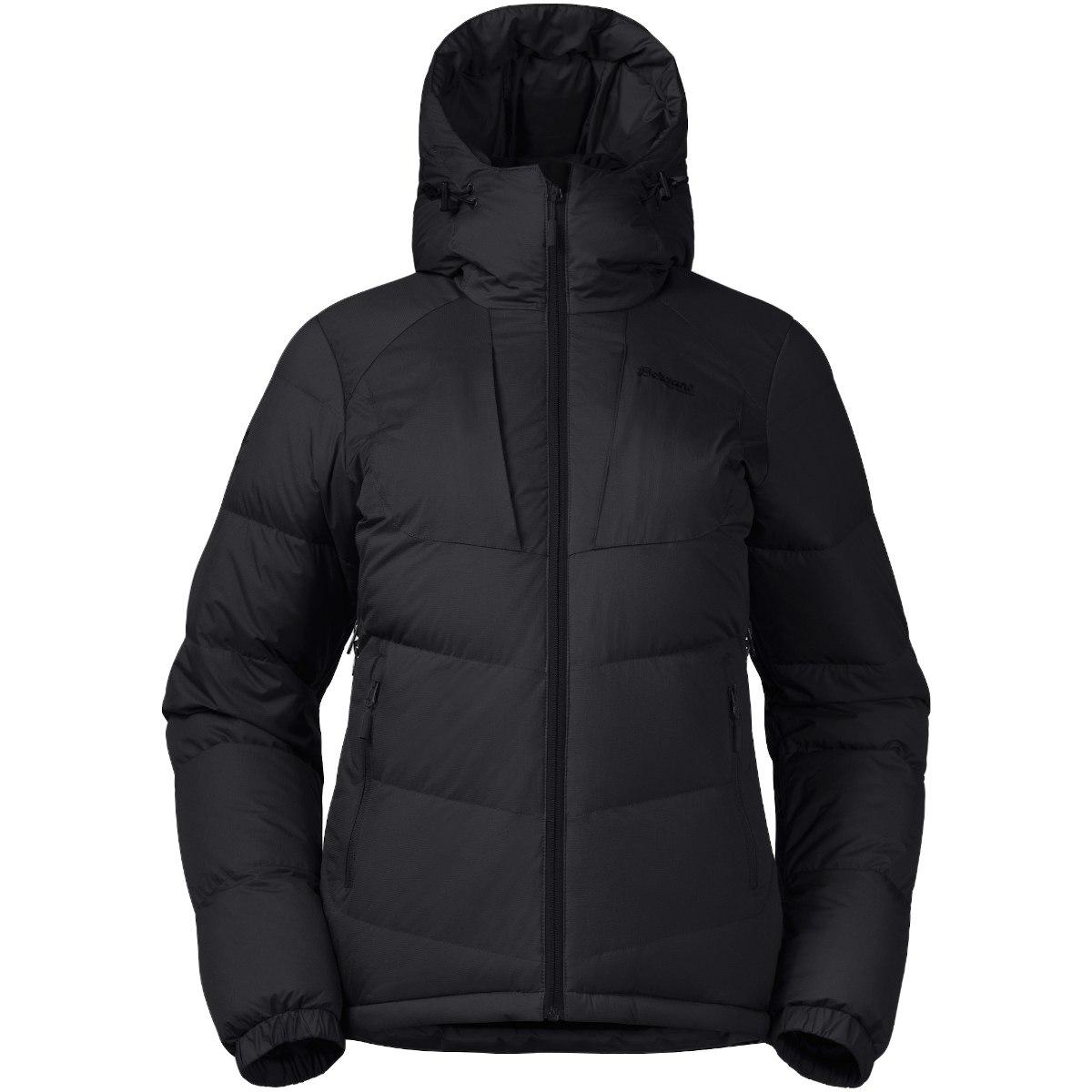 Image of Bergans Sauda Down Women's Jacket - solid charcoal/black