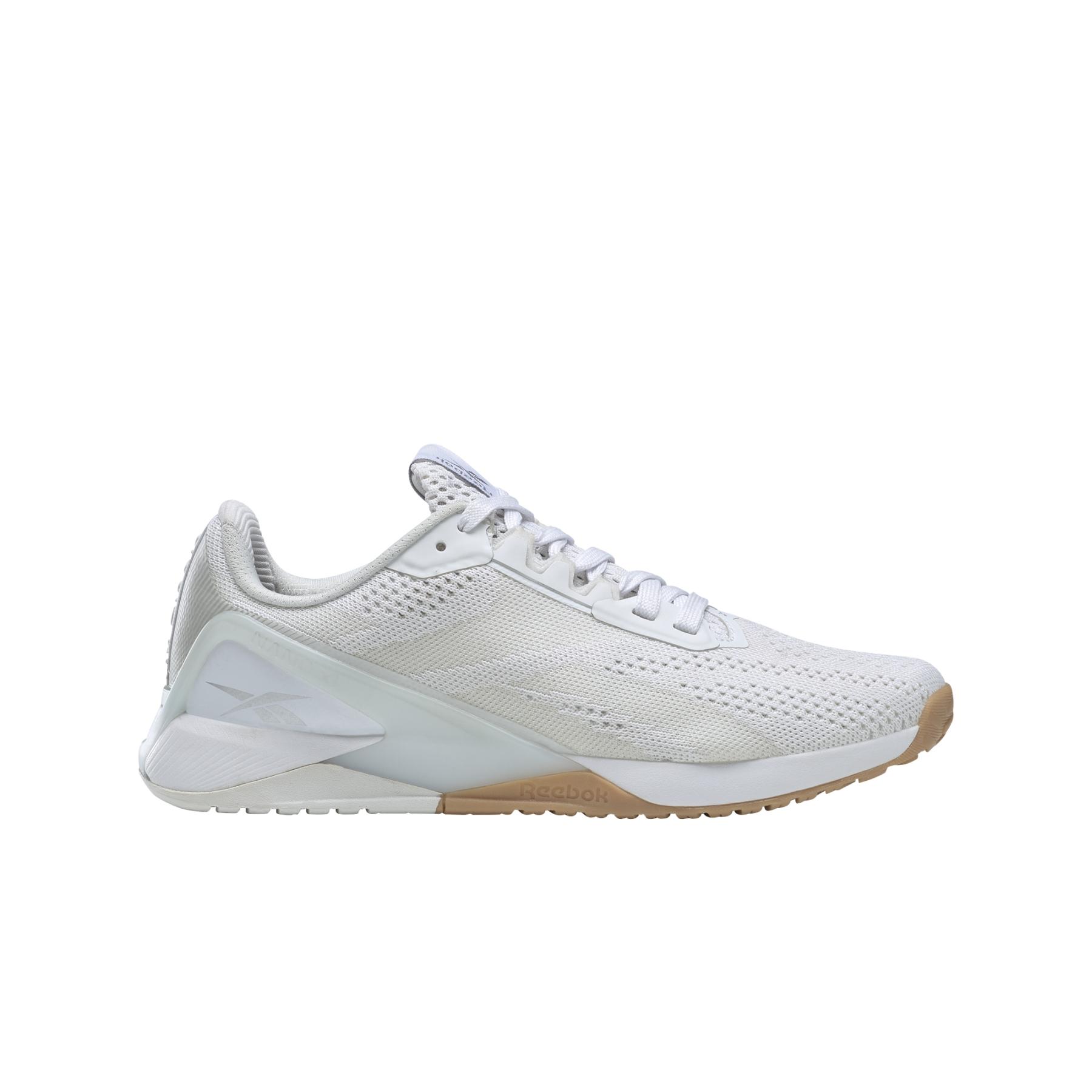 Reebok Nano X1 Zapatillas de entrenamiento para mujer - cloud white/true grey/reebok rubber gum-01 FZ0636