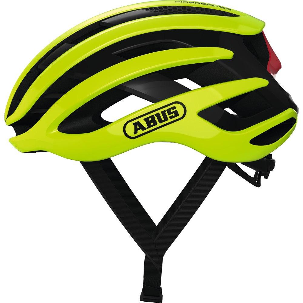 ABUS AirBreaker Helm - neon yellow